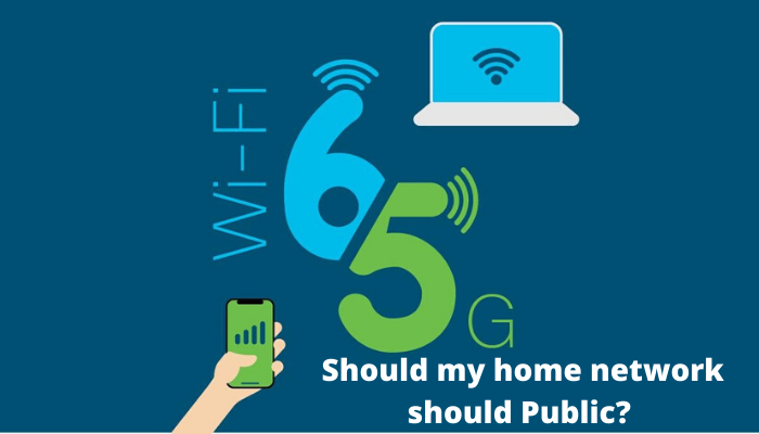 should my home network should public