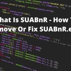 How To Remove Or Fix SUABnR.exe