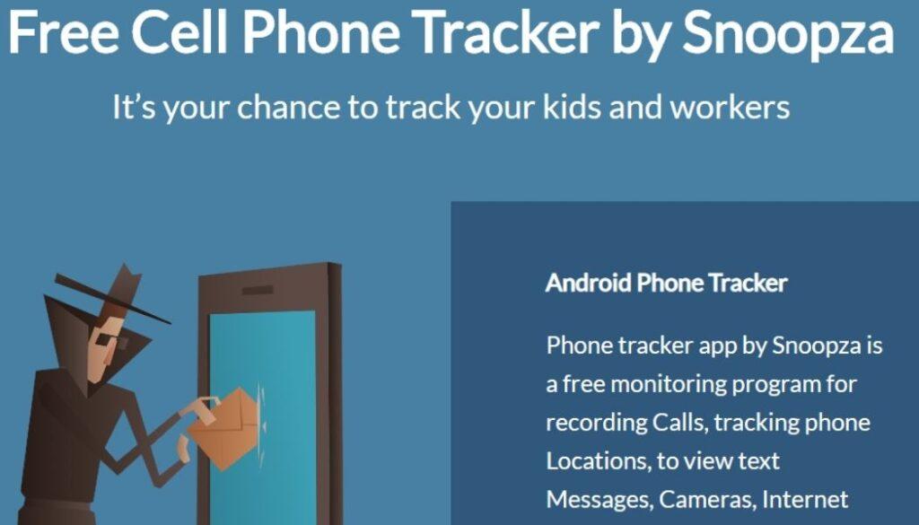 Snoopza Cell Phone Tracker