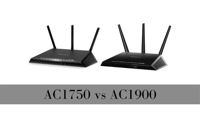 AC1900 VS AC1750